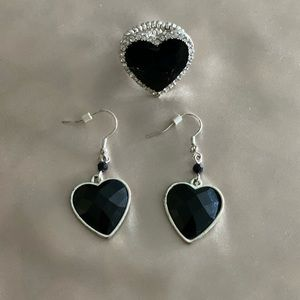 Black heart set